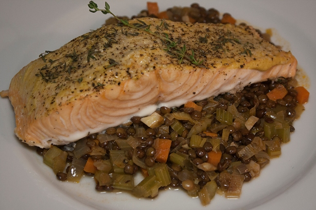 20141026_Salmon with Lentils_IMG_8859_edited-1